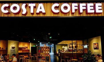 costa coffee全景图